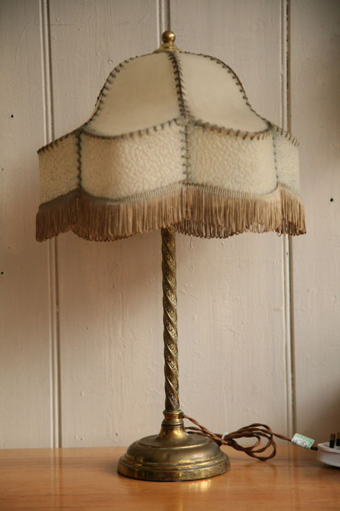 1930s Vintage Table Lamp