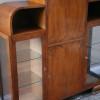 1930s Deco Display Cabinet Bureau (2)