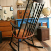 1950s Rocking Chair by Roland Rainer (1)