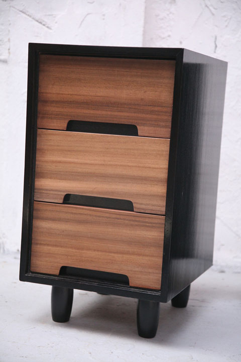 1960s Walnut Bedside Cabinets By Stag Cream And Chrome
