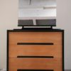 1960s Stag Black Dressing Table Drawers (1)