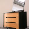 1960s Stag Black Dressing Table Drawers (4)