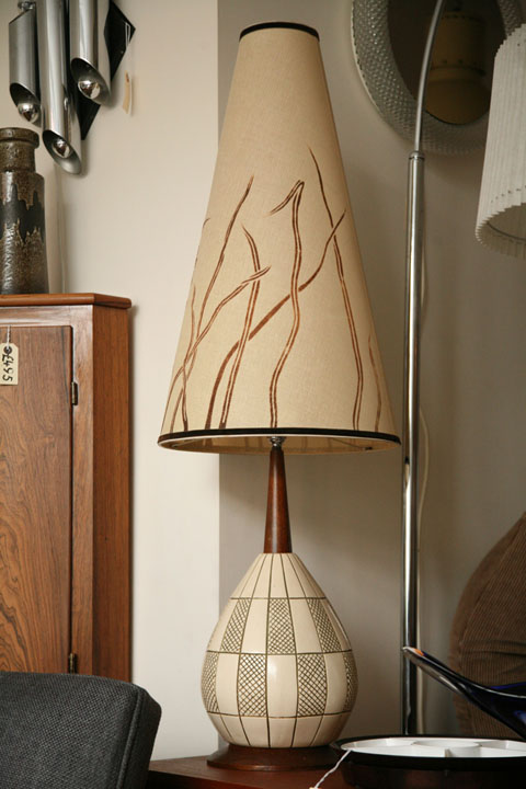 1960s Tall Vintage Table Lamp