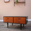 1960s Teak Chest of Drawers Coffee Table (1)