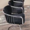 1970s Chrome Dining Chairs (1)