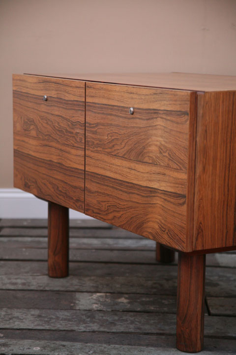 1970s Rosewood Filing Cabinet