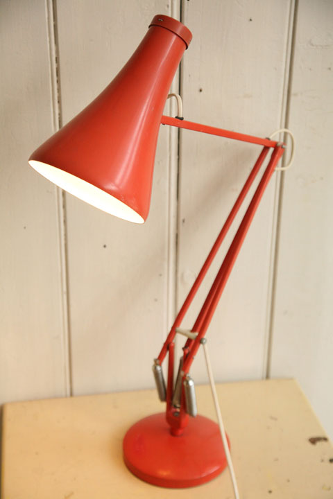 1970s Anglepoise Desk Lamp Cream And Chrome