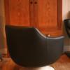 1970s Vinyl Swivel Chair (2)