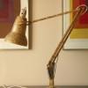 Anglepoise Lamp – Gold mottled