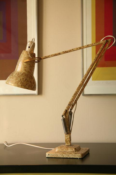 Anglepoise Lamp - Gold mottled