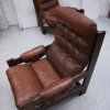Brown Leather Vintage Chairs