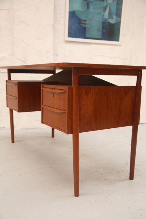 Danish Small Teak Desk