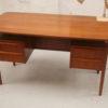 Danish Small Teak Desk (6)