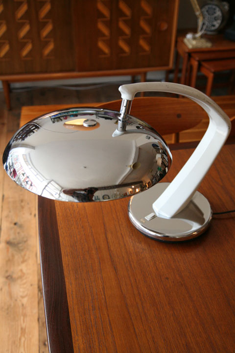 Fase Desk Lamp Chrome