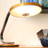 Fase Desk Lamp – Gold and Chrome (3)