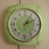 Green Bakelite Smiths Wall Clock (1)