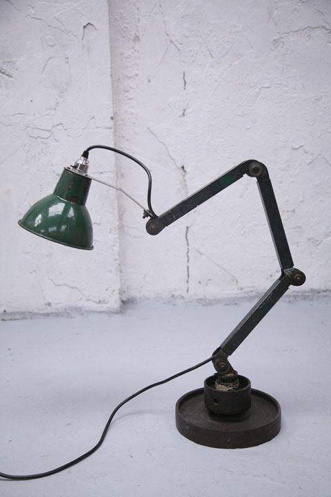 Industrial Machinists Table Floor Lamp