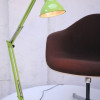Large 1970s Lime Green Anglepoise Lamp (3)