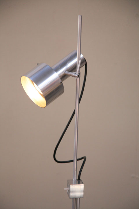 Peter nelson floor lamp cream and chrome peter nelson floor lamp aloadofball Image collections