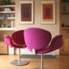 Pierre Paulin Little Tulip Chairs (1)