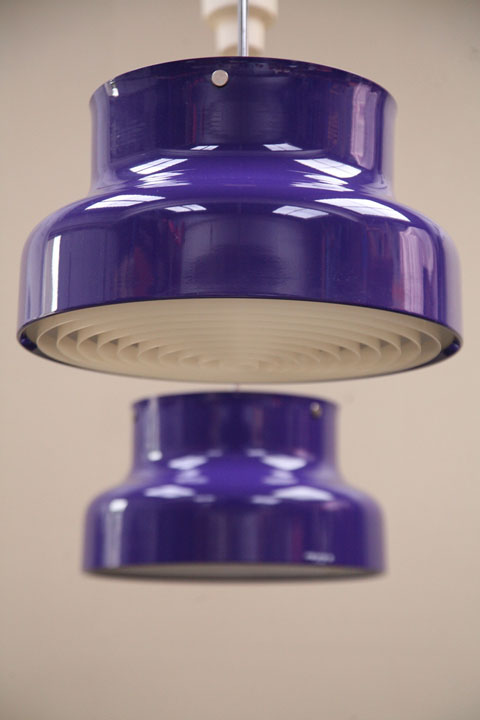 Purple Bumling Ceiling Lights