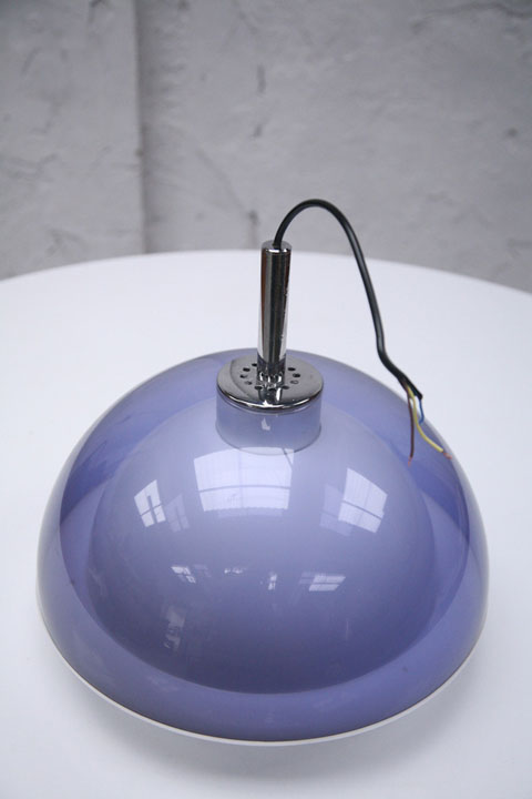 1960s Ceiling Light By Robert Welch Cream And Chrome