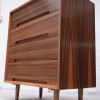 Stag Walnut Chest of Drawers