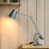 Vintage Blue Horstmann Simplus Desk Light (1)