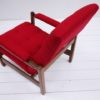 1970s Red Lounge Chair 3