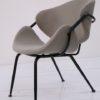 Modernist 1950s Grey Armchair