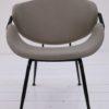 Modernist 1950s Grey Armchair3