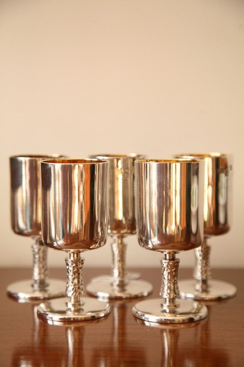 Silver Goblets by Royal Irish Silver Company