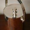 Silver Plated Ice Bucket by Lino Sabattini Argentina1