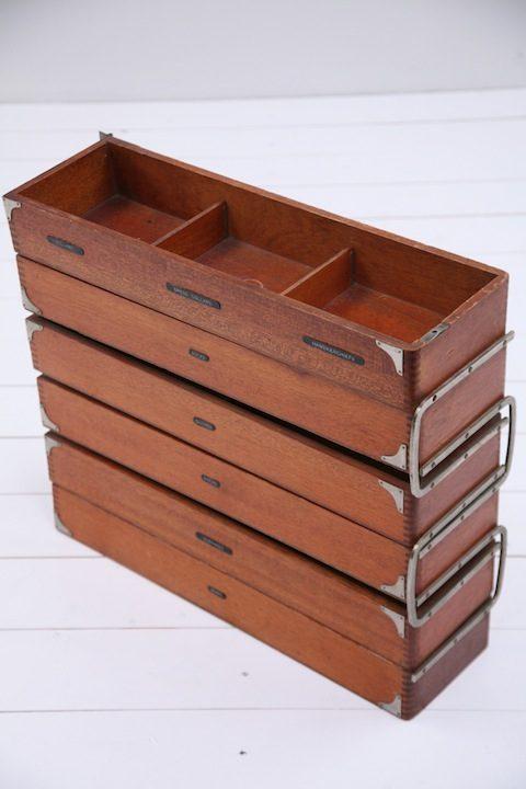 Vintage Wardrobe Storage Unit