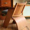 1930s Oak Side Chair (2)