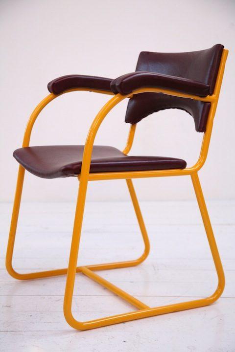 1950s Industrial Desk Chair 1