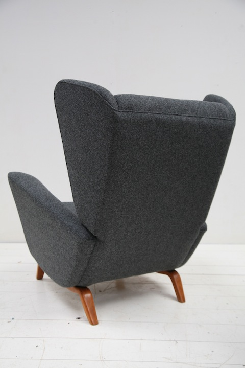 1950s Lounge Chair By Howard Keith Cream And Chrome