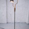 1950s black brass double floor lamp (1)