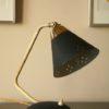 50s Small Desk Lamp Black