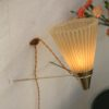 'Cone Fittings' 1950s Wall Lamps (1)
