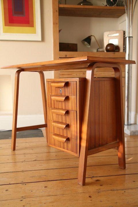 Moderrnist Bentwood Desk