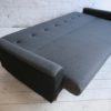 1950s Sofabed in Grey and Black Wool6
