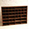 VIntage Post Office Pigeonhole Cabinet3