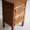 1930s Oak Sewing Box and Chest of Drawers 1