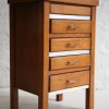 1930s Oak Sewing Box and Chest of Drawers