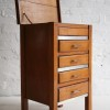 1930s Oak Sewing Box and Chest of Drawers 2