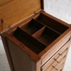 1930s Oak Sewing Box and Chest of Drawers 3