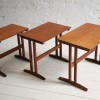 1960s Nest of Teak Tables 1