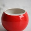1970s Red Ceramic Ashtray1