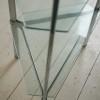 Glass and Chrome Shelving Unit by Merrow Associates UK 2